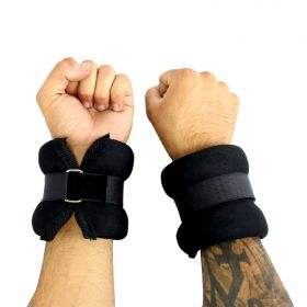 5LBS Perrini Black Extended Fit Wrists/Ankle Weights