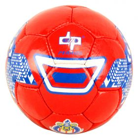 Perrini Indoor Outdoor Red/Blue/White Color Soccer Ball Size 5