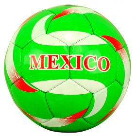 Perrini Indoor Outdoor Mexico Green/White/Red Color Soccer Ball Size 5