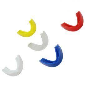 Mixed Color Boxing Single Layer Silicone Mouth Guard Teeth Protector