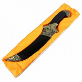 """TheBoneEdge 12"""" Steel Collectible Dagger With Scabbard"""