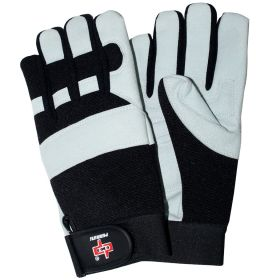 Perrini White ammara Mechanical Safety Gloves Sizes S - XXL