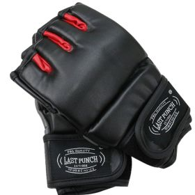 Last Punch Grappling Heavy Bag Gloves Boxing Training Gloves Eva Padding