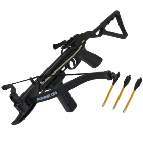 The Seeker Recurve Full Stock Pistol Grip 80 lb Hunt Crossbow
