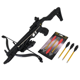 The Shredder 80 Lb Hand Hunting Crossbow Full Stock W/ Safety