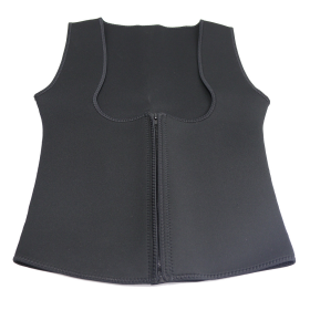 Women Neoprene Push Up Vest Sweat Waist Training Hot Body Shaper For Work Out BK
