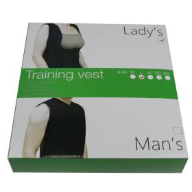 Women Neoprene Push Up Vest Sweat Waist Training Hot Body Shaper For Work Out BK