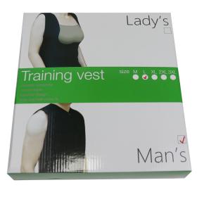 Men's Neoprene Sauna Vest Sweat Shirt Corset Body Shaper Zipper Gym Training Top