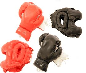 Last Punch 2 Pairs of Boxing Gloves & 2 Sets of Head Gears Brand
