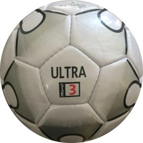Perrini Ultra Indoor Outdoor Sports Black White Soccer Ball Size 3