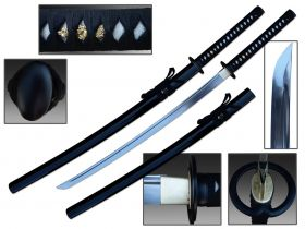 "Defender 40 1/2"" Hand Forged 1060 Carbon Steel Blade FullTang Samurai Sword"