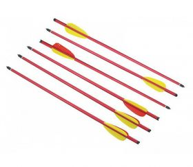 "16"" METAL ARROWS FOR 180, 150 LBS CROSSBOWS 6 Piece Pack"