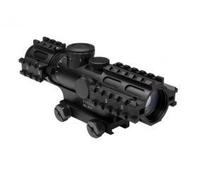 3-9x42 Compact Scope/3 Rail Sighting System/Blue Ill. P4 Sniper/Weaver Mount