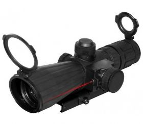 3 - 9x42 mm Mark III Rubber Tactical Scope with Integrated Laser