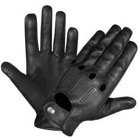Perrini Classic Soft Aniline Leather Driving Gloves Genuine Lambskin  Ventilated
