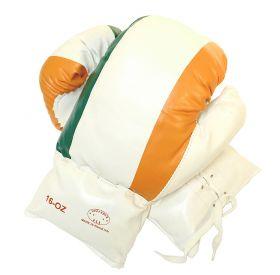 16oz Ireland Flag Boxing Gloves