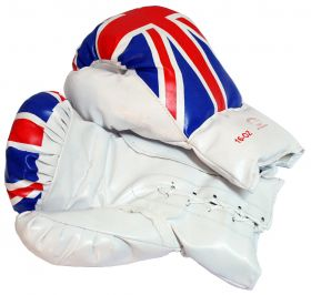 16oz United Kingdom Flag Boxing Gloves