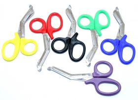 "Mixed Colors 7.5"" FirstAid Rescue EMT/EMS Trauma Shears Utility Scissors"