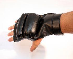 Black Color Boxing Training Gloves