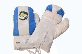 16oz Guatemala Flag Boxing Gloves