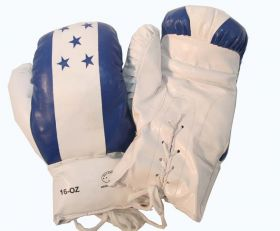 16oz Honduras Flag Boxing Gloves