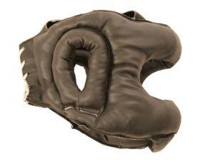 Black Head Guard Boxing Gear