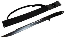 "27"" Wholesale Ninja Sword with Sheath Black Full Tang Sword"