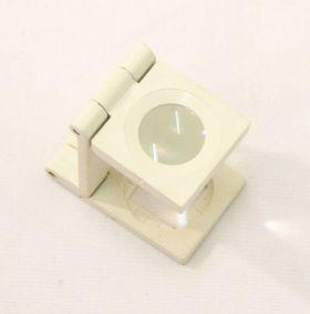10X16 Mini White Magnifier