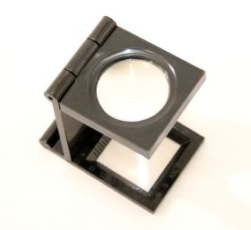 "2.5"" Black Folding Magnifier"