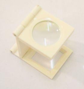 7X27 Mini White Magnifier