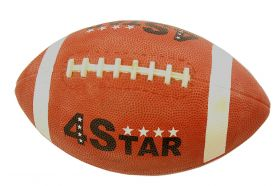 Unisex Indoor Outdoor Performer Brown Perrini Rugby Ball