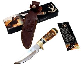 "9.5"" Wholesale Hunting Knife Bone Handle Skinner Knife"