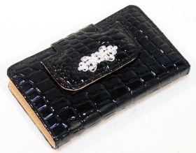 10 PC High Quality Black Stylish Bag Kit Manicure Set