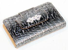 10 PC High Quality Silver Stylish Bag Kit Manicure Set