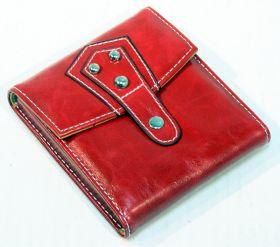 11 PC High Quality Red Purse Button Stylish Bag Kit Manicure Set
