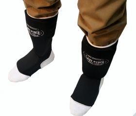 Black Professional Martial Arts Shin Pads