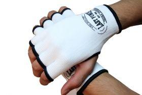 MMA White Hand Wrap Training Gloves