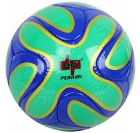 Perrini Green/Blue/Gold Brazuca Soccer Ball Size 5