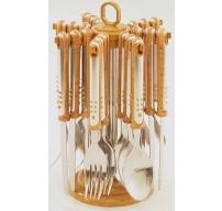 6 Set Close Out Deal 25 pcs Cutlery Set