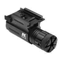 Compact Pistol and Rifle Green Laser with Quick Release Weaver Mount