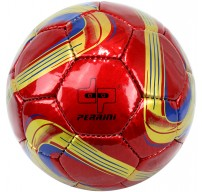Perrini Red/Gold/Navy Blue Soccer Ball Size 5