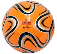 Perrini Silver/Orange/Black Brazuca Soccer Ball Size 5