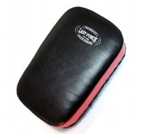 "14.5"" Black & Red Boxing Mui Thai Kick Pad  Velcro Straps"