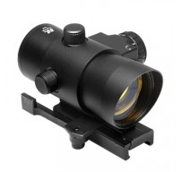 1X40 Red Dot Sight with Built in Red Laser/Quick Release Weaver Mount (DLB140)