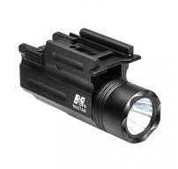 Compact Pistol and Rifle Flashlight Green Laser with Quick Release Weaver Mount (AQPTFLG)
